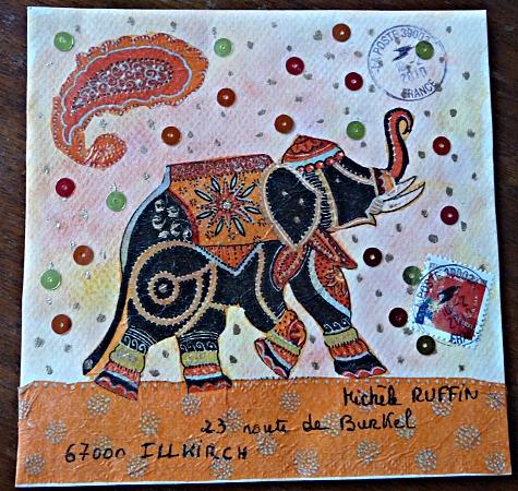JeuMail Art Mounia (enveloppe)