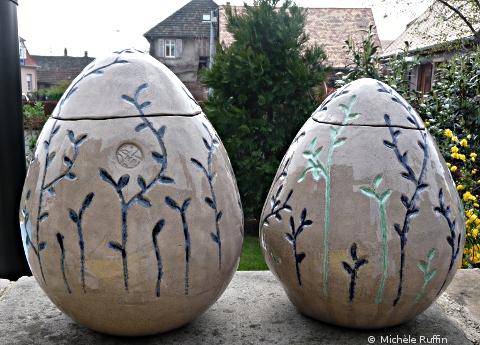 oeuf céramique © Michèle Ruffin