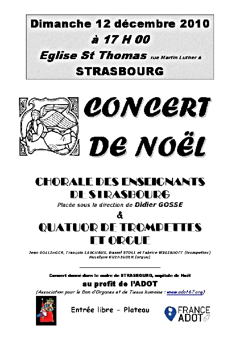 concert de noel - adot67