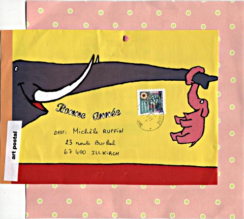 mail art Marielle janv11