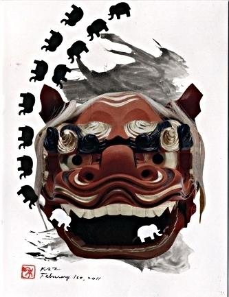 Kazunori M. - art postal fevrier11 002
