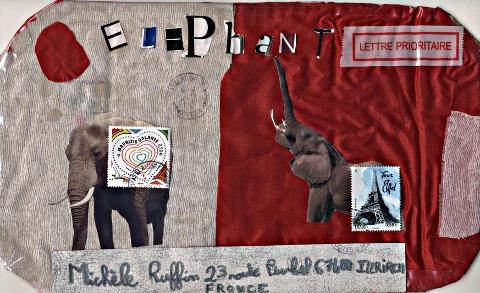 Art postal de l'école publique de chatelaudren fevrier11