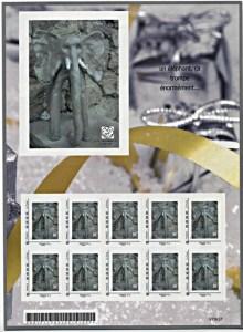 dali02 planche timbre monde