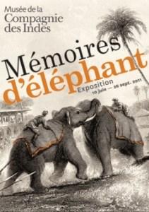 Mémoires d'éléphant - Musée de la compagnie des Indes - Port Louis