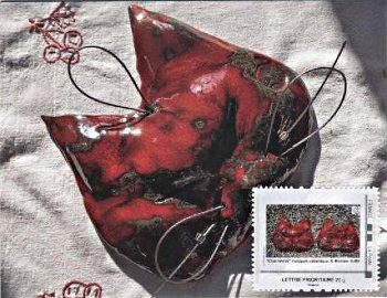 """Envoi ce jour 27 août 2012 de ces cartes maximaphilie """"Chachémoi"""""""