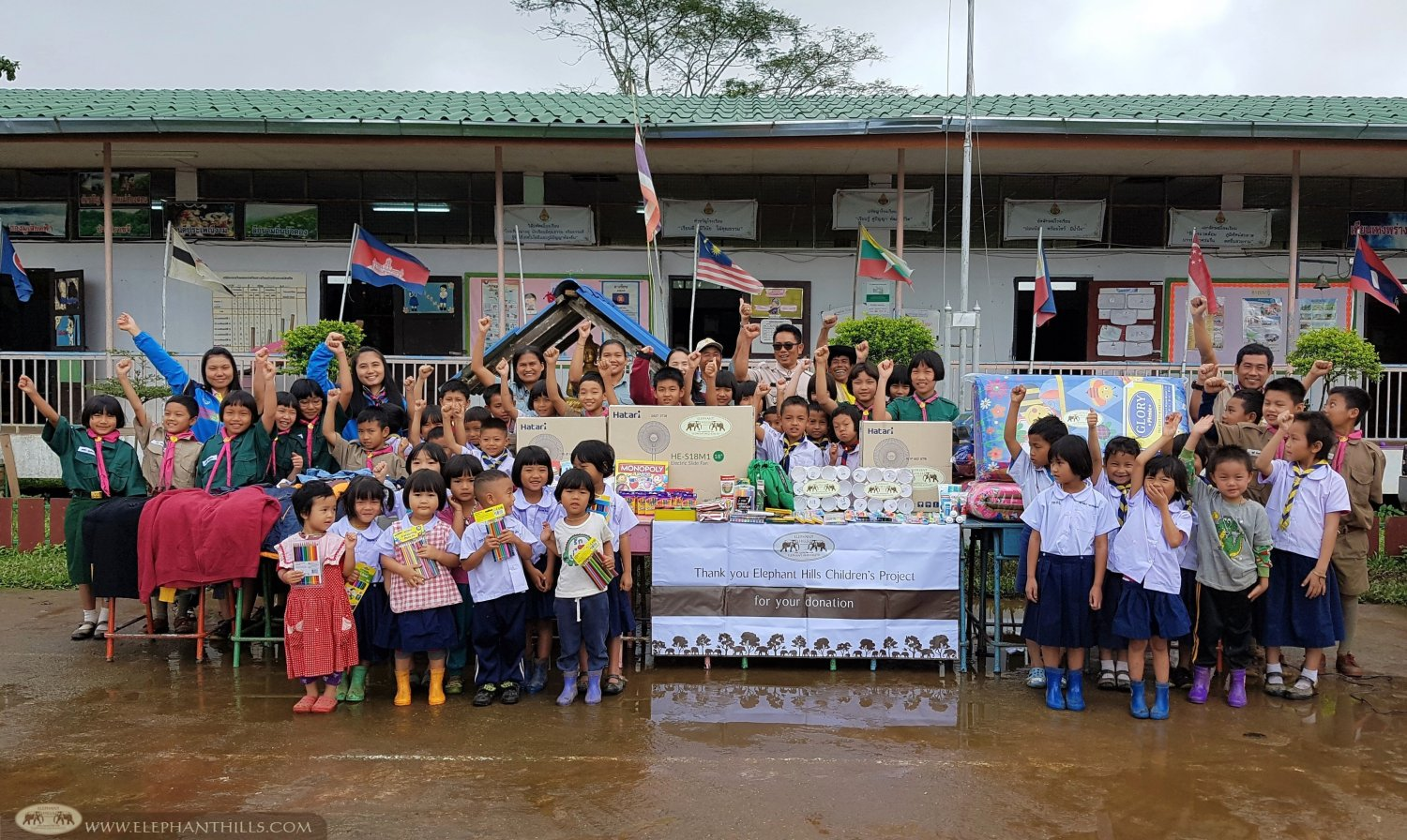 Elephant Hills Children's Project - Pa Pae - Mae Hong Son