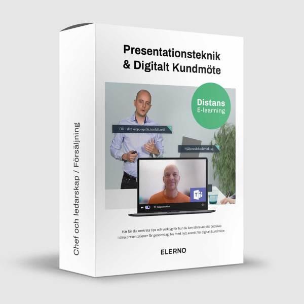 Presentationsteknik och Digitalt Kundmöte kurs