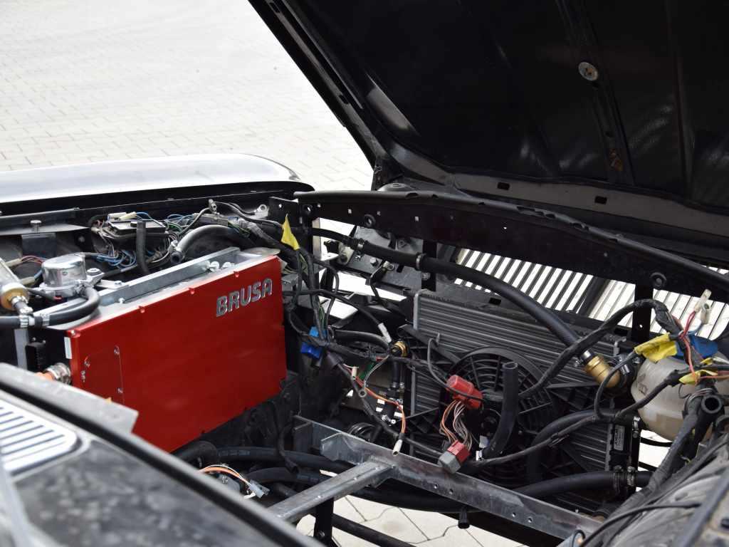 elerra Daimler Elektroauto Motorraum Elektroumbau