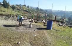 Construyen complejo deportivo  en la parroquia Luis Cordero