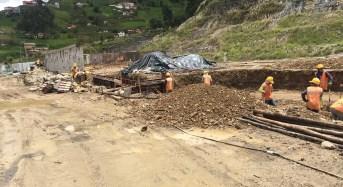 40% de avance tiene complejo  de aguas termales de Guapán