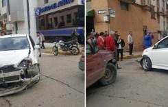Irrespeto a señal de tránsito causa accidente