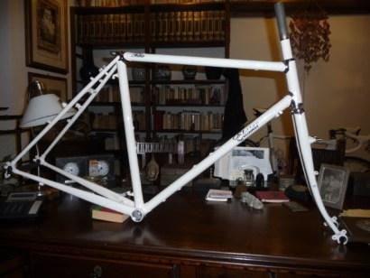 Telaio bici acciaio Vetta Elessar