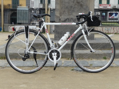 Trek Multitrack 750 modificata tripla shimano