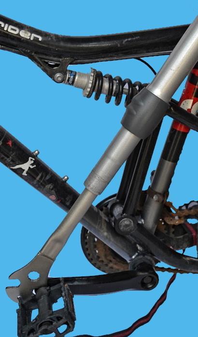 Come smontare i pedali ossidati allungare leva con tubo