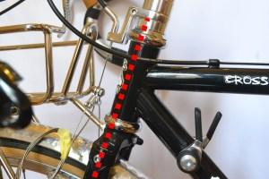 5505 Montiamo la bici serie sterzo trittico leve Surly Cross Check 44