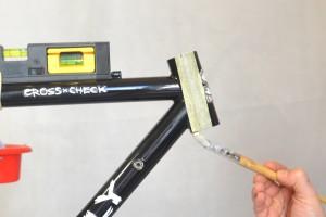 5508 Montiamo la bici serie sterzo trittico leve Surly Cross Check 47