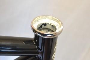 5555 Montiamo la bici serie sterzo trittico leve Surly Cross Check 94