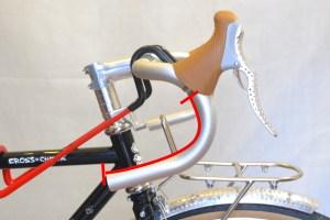 5578 Montiamo la bici serie sterzo trittico leve Surly Cross Check 117