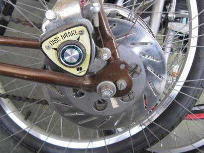 Vintage bici shimano disc brake
