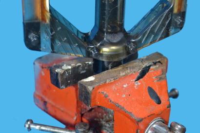 Manutenzione dei pedali flat bloccare pedale in morsa