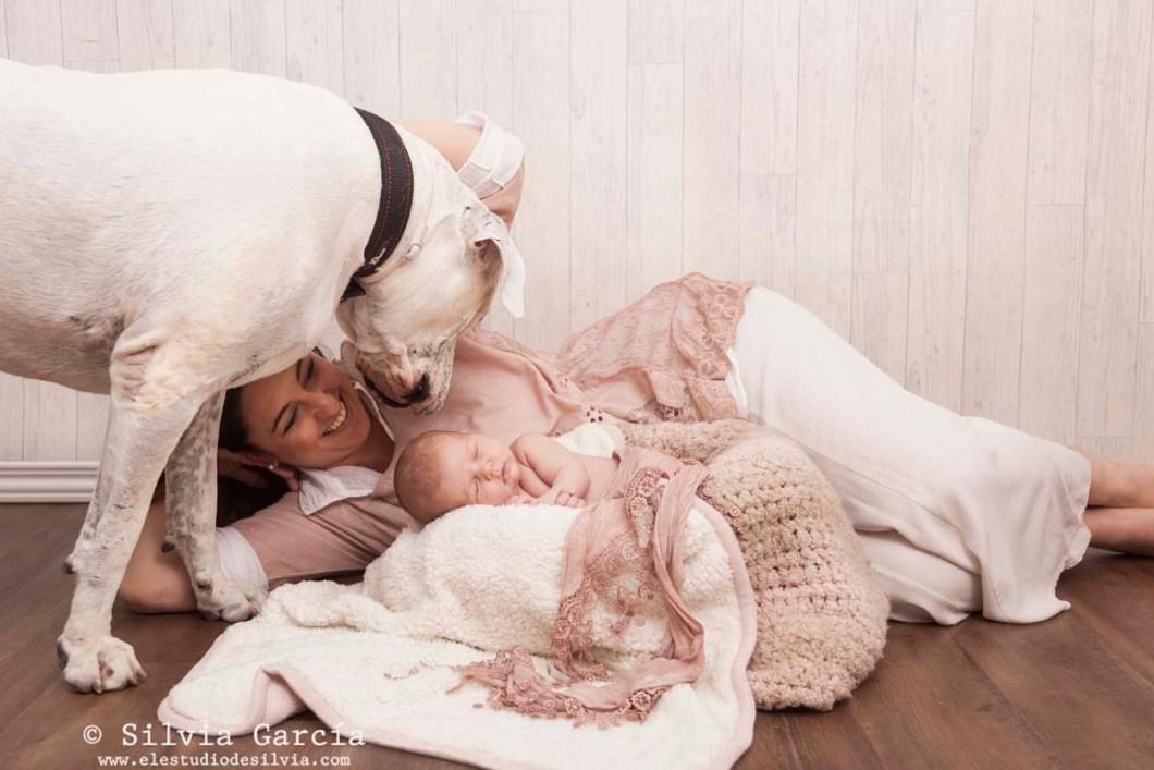 fotos de recién nacido, fotografía de recién nacido, fotografo recien nacidos, fotografía infantil, fotos de bebes, newborn photography Madrid, fotos de familia naturales, fotografía familiar Madrid, recién nacidos y mascotas, fotos con perro, pet photographer, fotos con mascota