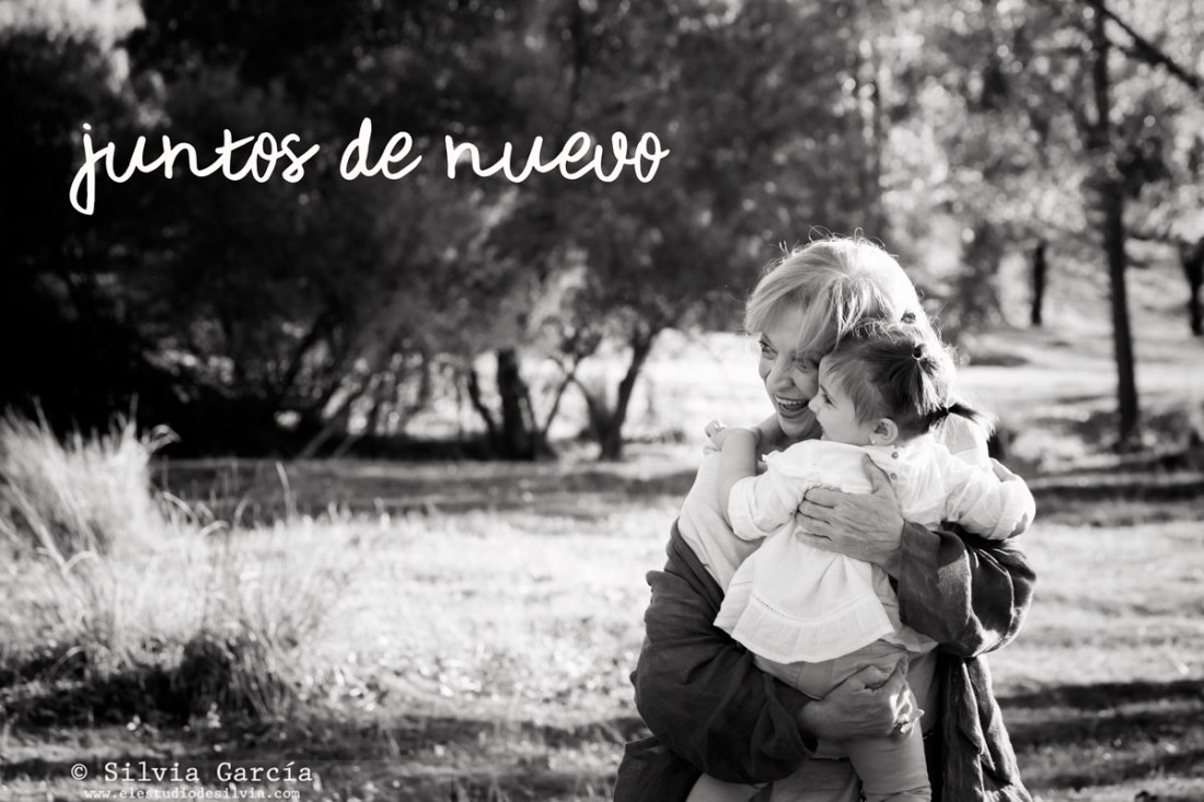 juntos de nuevo, reencuentro, fotografia familiar, fotos de familia, recuerdos de familia, sierra de guadarrama, fotos con los amigos, fotos con los abuelos