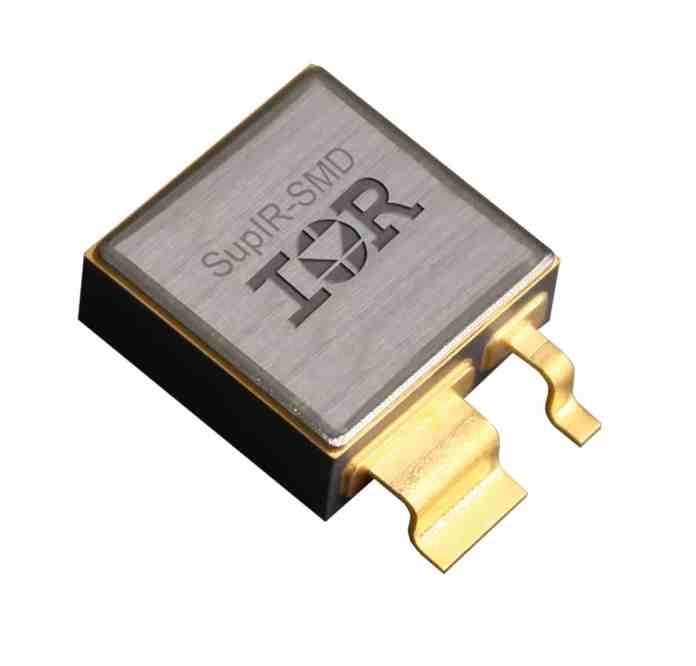 Il package SupIR-SMD per i MOSFET di potenza consente prestazioni più elevate