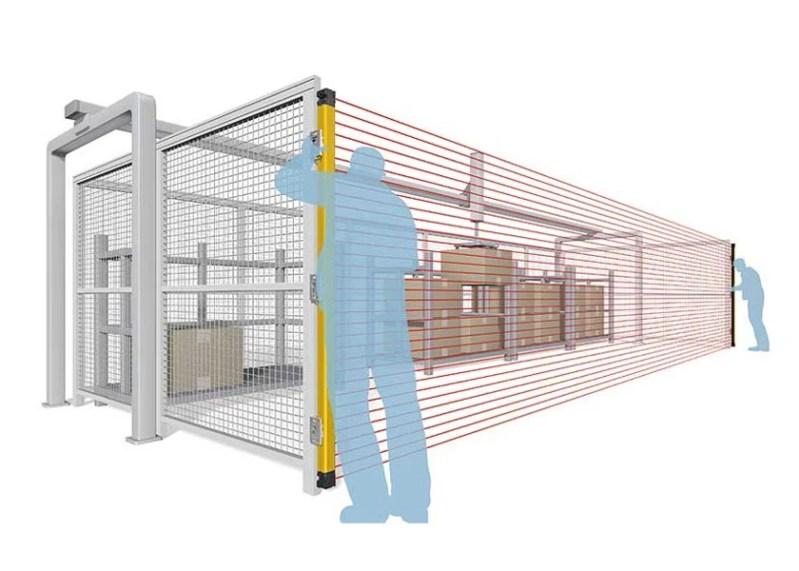 La nuova barriera fotoelettrica F3SG-SR di Omron ridefinisce la sicurezza nei siti produttivi