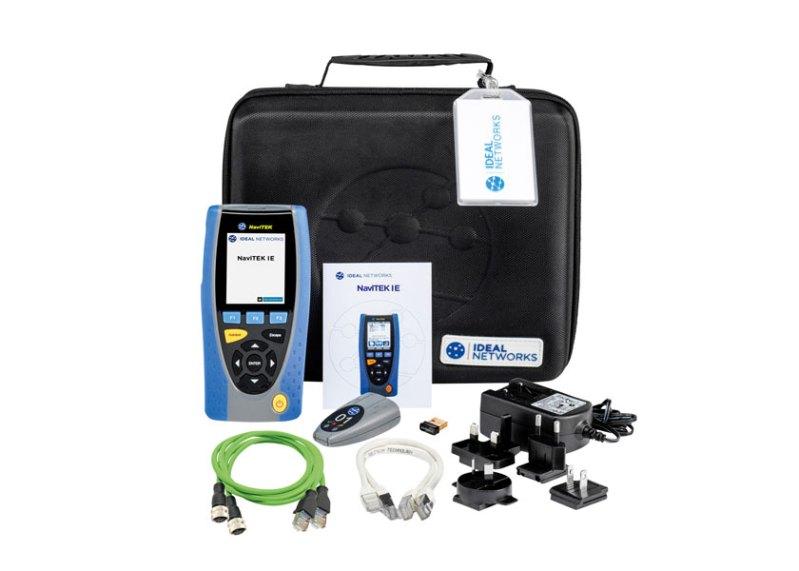 Conrad offre in pronta consegna il tester NaviTEK IE per cavi e reti Ethernet industriali