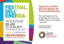 Al via tra pochi giorni il Festival dell'Energia