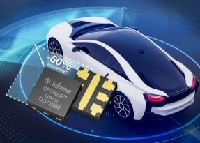 OPTIREG, alimentatori con tecnologia flip-chip appositamente progettati per applicazioni automobilistiche