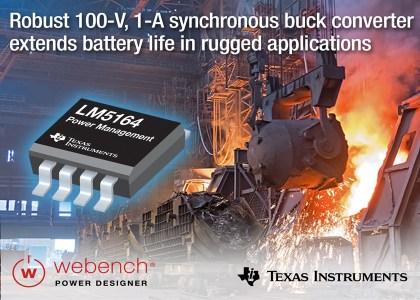 LM5164-PR-Graphic-420x300 LM5164, affidabile convertitore buck sincrono DC/DC da 100 V e 1 A ad elevata integrazione