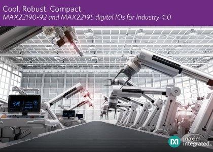 MAX22190-MAX22192-PR-420x300 Nuovi circuiti integrati Digital Input di Maxim per l'Industry 4.0