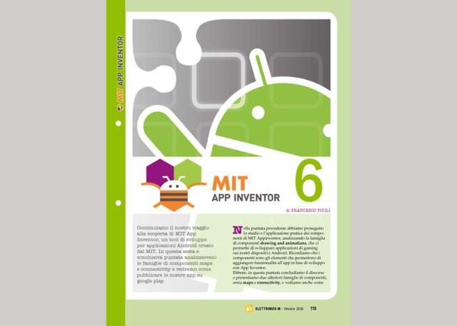 """MITAppInventor229-640x457 Rivista #229: """"MIT App Inventor, sesta puntata"""""""
