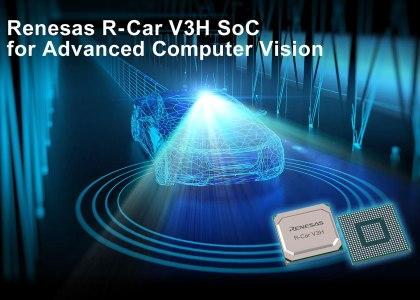 REN0755_R-Car_V3H-420x300 Da Renesas SoC per telecamere anteriori per veicoli autonomi di livello 3 e 4