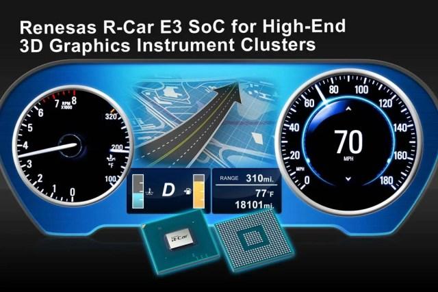 Renesas_REN0788_R-Car_E3_Interno-640x427 Il cruscotto auto cambia radicalmente grazie all'innovativo SoC R-Car E3