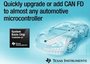 TCAN4550-Q1: da Texas Instruments un nuovo transceiver CAN FD con controller integrato
