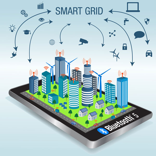 Smart-Grid-Graphic600x600 L'espansione di Bluetooth 5 nelle smart grid