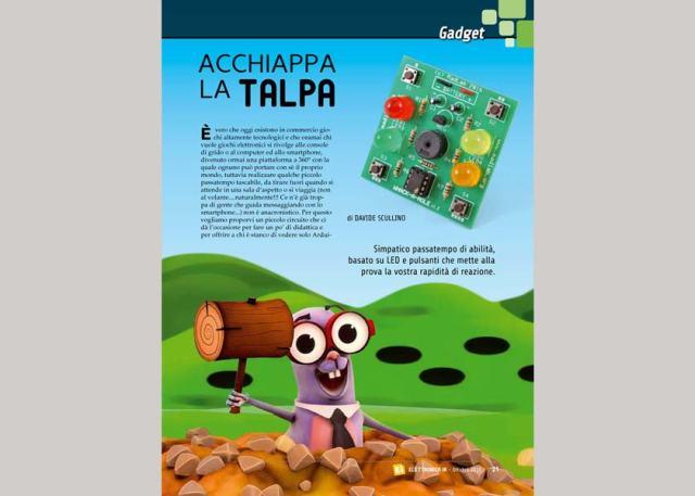 """Talpa229-640x457 Rivista #229: """"Acchiappa la talpa"""""""