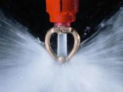 impianto antincendio spegnimento automatico a pioggia