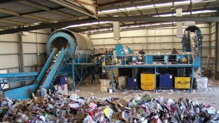 videoanalisi centro smaltimento rifiuti