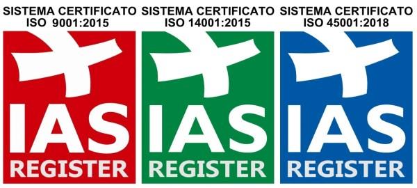 Certificazioni Eletton ISO
