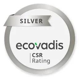 EcoVadis Elettron Certificato CSR Silver 2019