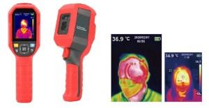 Telecamera termica portatile lettura temperatura corporea
