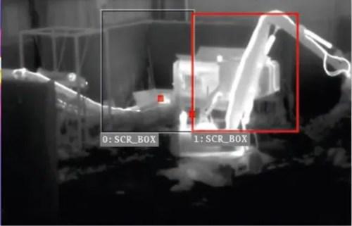 videoanalisi termica surriscaldamento materiali