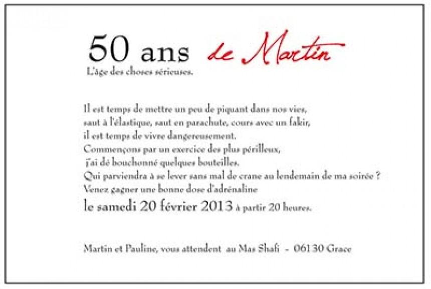 Model De Texte Pour Anniversaire 50 Ans Elevagequalitetouraine
