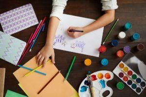 Arteterapia con niños conseguir una mejora en su bienestar