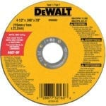 Dewalt metal cut-off wheel good for carbon fiber