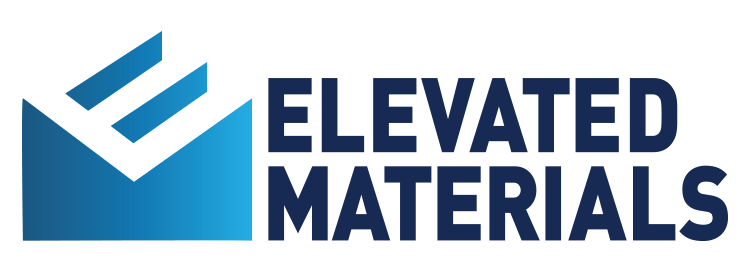 Elevated Materials EM Logo horizontal large
