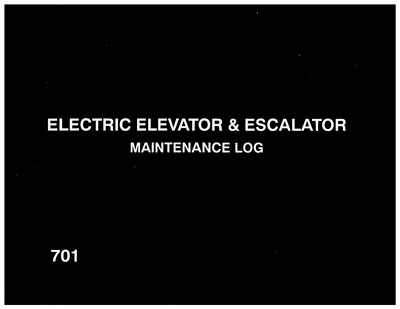 Electric Elevator Logbook